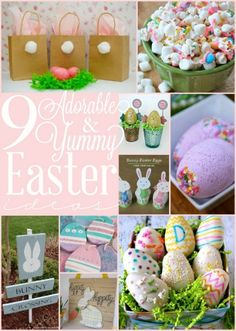 9 Adorable and Yummy Easter Ideas