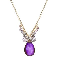 Dana Kellin for Target Purple Long Necklace with Pendant