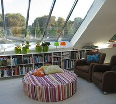 What a great reading space!