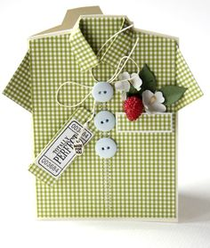 Shirt card pattern