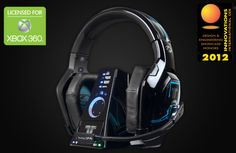 Tritton has released their Halo 4 branded line of headsets. These are officially licensed Xbox 360 headsets that support Xbox Live chat. The Halo 4 Trigger Stereo Headset comes with a bonus UNSC Logo Tshirt for your Xbox Avatar and features 40mm stereo drivers, separate voice and game volume, and connect via RCA cable.