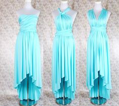 Hey, I found this really awesome Etsy listing at https://www.etsy.com/listing/226017352/bridesmaid-dress-long-hi-low-convertible