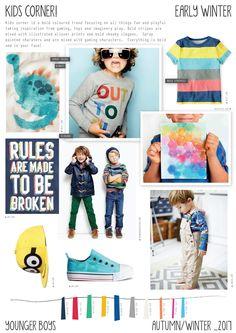 Emily Kiddy: Kids Corner - Autumn/Winter 2016/17 - Younger Boys Trend