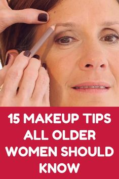 12 Beauty Habits You Should Be Doing Every Night 15 Makeup Tips All Older Women Should Know About (Slideshow) - Das schönste Make-up Eye Makeup Tips, Makeup Hacks, Makeup Products, Hair And Makeup Tips, Basic Makeup, Beauty Tips For Hair, Makeup Ideas, Beauty Products, Hair Beauty