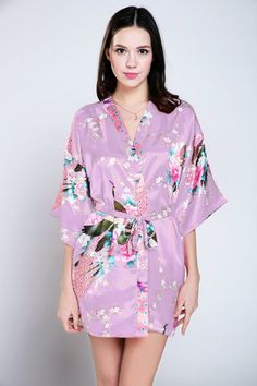 appreciation gifts women bathrobe wedding day robe maternity wedding dress  kimono dress up housecoat or dressing gown vintage bridal shower ec5150022