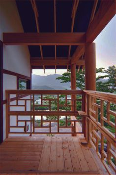 Neo-Traditional Korean Homes: 6 Modern Updates on the Vernacular Style House in Geochang by Studio Gaon Busan South Korea Modern Courtyard, Courtyard House Plans, Korean House, House Fence Design, Asian Architecture, Classic Architecture, Modern Asian, Railing Design, Balustrade Design