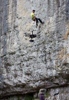 UAV shoot. #DJI Spreading Wings #S800.