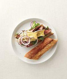 Steak Sandwiches With Brie recipe