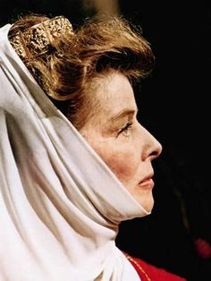 The Lion In Winter, Katharine Hepburn As Eleanor Of Aquitaine, 1968 Photographie