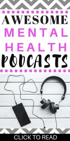 Check out these awesome podcasts for personal development and mental health. These are perfect for you if you're struggling with depression and anxiety or if you're trying to improve your life. #podcasts #mentalhealth #depression #anxiety #personaldevelopment