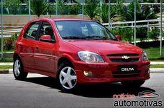 Chevrolet oferece Celta LT com airbags e ABS por R$ 31.490