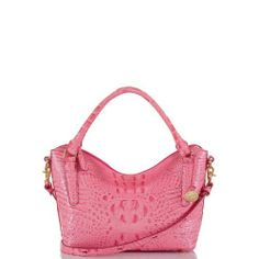 The #Brahmin Small Norah Hobo Bag in Pink Lychee Melbourne. One of our favorite bag styles, just got a petite makeover!