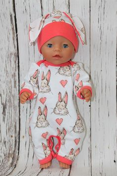 Baby Born Clothes for dolls Baby Born do it yourself! Baby Born Clothes, Bitty Baby Clothes, Preemie Clothes, Doll Dress Patterns, Doll Sewing Patterns, Baby Patterns, Sewing Doll Clothes, Sewing Dolls, Reborn Baby Dolls