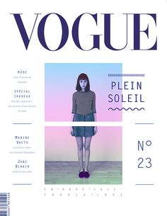 Plein soleil on Editorial Design Served