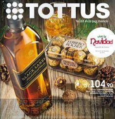 Catalogo con Ofertas de Licores de Tottus Navidad 2014