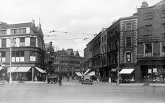 Another tasty view of the corner of Grafton Street, King Street, and St. Stephen's Green in Dublin. Ireland Pictures, Old Pictures, Old Photos, Vintage Photos, Grafton Street, Irish Culture, Photo Engraving, Ireland Homes, Dublin City