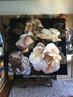 FOSCARI CHAPTER X Copyright Diana Watson painting Gardens are not simply for lawns and residence Enjoy fields, but will … Oil Painting Flowers, Australian Artists, Cool Paintings, Botanical Art, Painting Inspiration, Art Floral, Flower Art, Watercolor Art, Beautiful Flowers