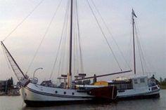 Luxury sailing ship Stockpaerdt available for hire, maximum 58 passengers.