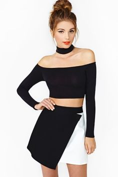 Crawford Crop Top  - in love with this top