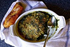the best baked spinach by smitten, via Flickr