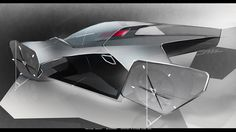 Koenigsegg Prestera Concept by Richard Stark - Design Sketch