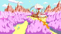 Adventure Time - Candy Kingdom by fullerenedream on DeviantArt