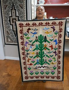 Native American Rugs, Native American Design, Native American Artists, American Indian Art, American Indians, Navajo Weaving, Navajo Rugs, Navajo Pattern, Southwestern Art