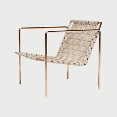 Rod + Weave Chair (Plated) • WorkOf