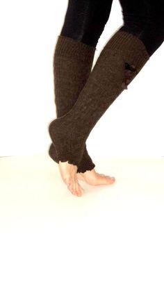 Lovely Brown Leg WarmerssocksWomenBoot Sock by aykelila on Etsy, $20.00