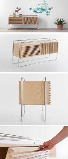 Fabrizio Simonetti Designs The Marcelo Sideboard For Formabilio