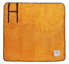✓ Alcott Adventures - Hundezubehör - dog gear - Weiche Decke für den Hund, Hundedecke orange - Soft blanket for dogs