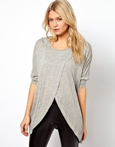 Enlarge ASOS Top with Cross Front