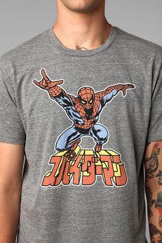Junk Food Spider-Man Tee