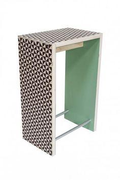 Contemporary bar stool / laminate NORDICO VERACE by Marcello Panza COVO