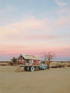 Salvation Mountain At Slab City Near Niland California