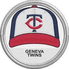 Geneva Twins - baseball cap hat - sports logo - uniform - New York Collegiate Baseball League - Minor League Baseball - MiLB - Created by Jackson Cage