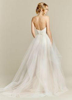Blush by Hayley Paige Candi 1550 Two-Piece Ball Gown Wedding Dress