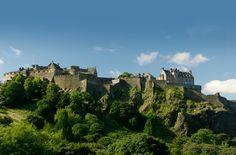 The Castle: Edinburgh's most famous attraction.