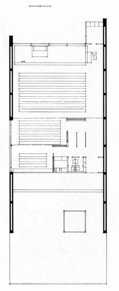 Heikki & Kaija Siren -Otaniemi Chapel, Campus of the Helsinki Technical University, Otaniemi, Finland Siren Design, Technical University, Architecture Plan, Helsinki, Floor Plans, How To Plan, Sirens, Finland, Workshop