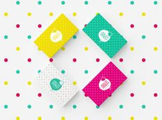 Identity for candy shop COOKIES on Behance
