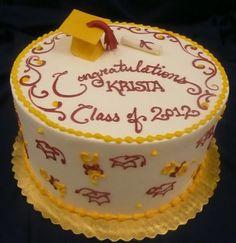 Graduation Cakes by Celebrity Cake Studio, celebritycakestudio.com  Tacoma WA