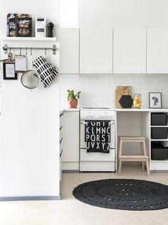 Beautiful kitchen via Scandinavian Deko. Photo by Pauliina Seppänen.