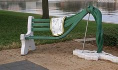 unusual bench design