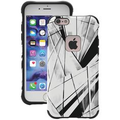 BALLISTIC UT1667-B41N iPhone(R) 6/6s Urbanite(TM) Select Case (Prism Black & White)