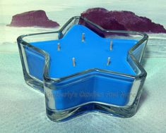 Ocean Mist PURE SOY Star Container Candle 11 oz.