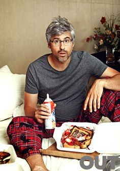 Mo Rocca Out Magazine - The Out 100 2013 - Photo by Danielle Levitt