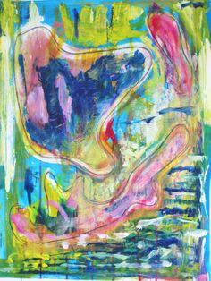 "Abstract #art ""bygones"" by Saatchi art artist #marinadewit"
