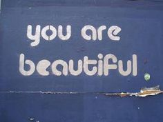 you are beautiful- embrace your body and love yourself. you will be happier and look better for it!