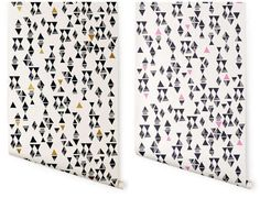 The Lisa Congdon for Hygge & West Collection is Modern and Geometric #wallpaper trendhunter.com
