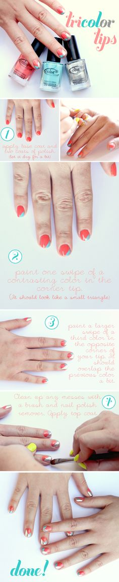 Makeup Monday: Tricolor Tips Tutorial